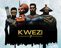 Kwezi Comics Poster Design
