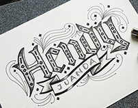 Name (1) Lettering