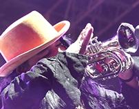 Video for the band Maldita Vecindad on Guadalajara