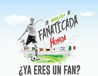 FANATICADA HONDA