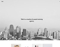 Takk - Premium Wordpress Portfolio Theme by onioneye