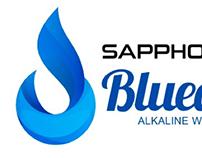 SAPPHO BLUEDROPS LOGO