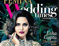 FEMINA Wedding Times magazine cover jan