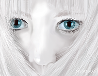 Cold Eyes - Digital Drawing