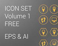 Icon Set Volume 1 - Free