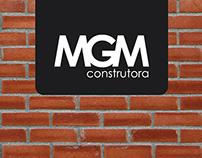 Cartão de Visita - MGM Construtora