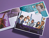 Oxford Spires Academy Sixth Form, Prospectus Design