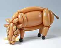 warthog (balloon art)