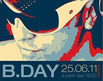 Convite B-Day