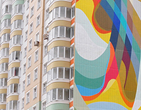 TWINS, Mural progect in Moscow, Russia