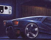 Supercar Drawings (2014)