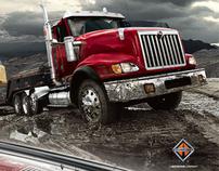 International Trucking : Print and B2B