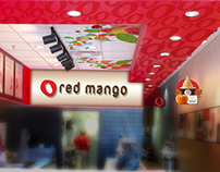 In-Store Graphics - Red Mango