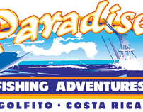 Paradise Fishing Adventures, Logo, Flyer and Web