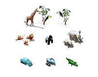 MegaCity Zoo - Art Direction