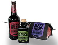 Packaging Design - The Irish Rodeo BBQ Selection