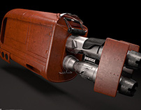 Star Wars The Force Awakens 3D Speeder