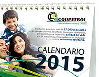 Calendario Coopetrol 2015