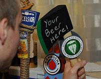 Beer Tap Handle Design, Fall 2014