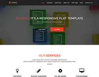 Cyprass video home page landing template