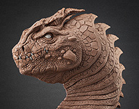 Snub-nosed dragon
