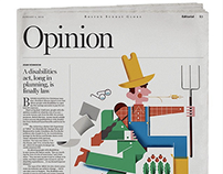 The Boston Globe (editorial illustration)