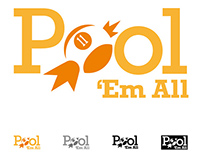 Isologotipo - Pool em All
