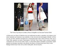 Blog / Jornalismo de Moda