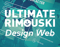 Ultimate Rimouski - Design Web