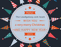LeadGalaxy Christmas Card