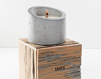Reusable Concrete Candle Holders