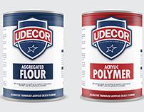 UDecor Product Label