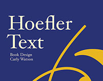 Hoefler Text Type Specimen Book