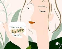 Illustrations for LA MER