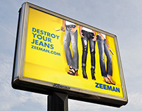 Destroy Your Jeans - Zeeman