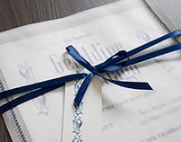 Convite de Casamento - Geraldine & Thiago