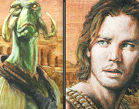 John Carter of Mars painting