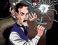 Herald: Lovecraft & Tesla banner