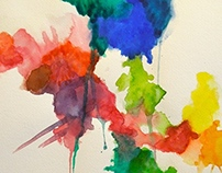 Abstract Watercolor Works