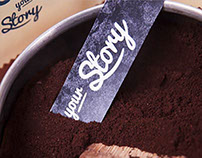 Your Story - Project for Chocolate and coffee store