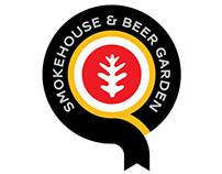 Q Smokehouse & Beer Garden logo submission.