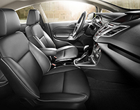 Automotive Interior - CG Renders