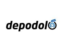 Depodolu.com Logo Çalışması