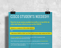 Flyer Design - Cisco Academy