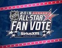 2015 NHL All-Star Fan Vote Campaign