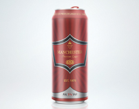 Manchester Lager - Beer Can Design