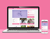 I Have Wings Breast Cancer Charity Website