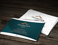 Business card design for  the hotel