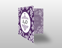 A&O Wedding Invitations