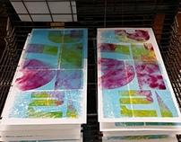 Globe Letterpress Inspired Sketchbooks